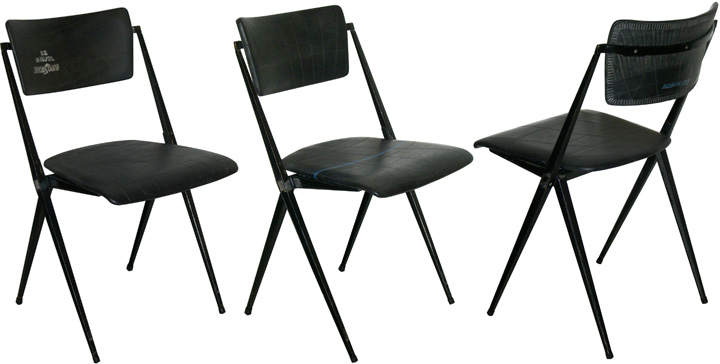 Rietveld-pyramide-chair-rubber-tube